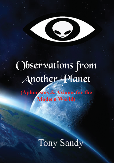 Picture of Observations from another Planet By Tony Sandy (Paperback)